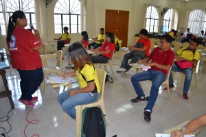 Red Cross 1-4-3 training