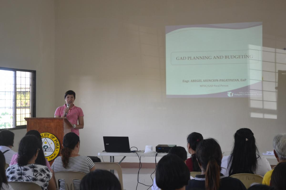 Barangay GAD Planning and Budgeting (Seminar-Workshop) | Official