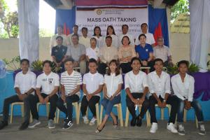 Mass Oath Taking of the Newly Elected Barangay and SK Officials