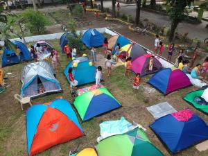 2019 Council-Wide Backyard Camping - Pura Central Elem School.