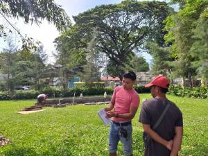 Construction and installation of Ariba Pura tagline (permanent concrete) and Belenismo 2019 at Pura Public Park