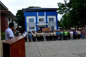 First Monday Flag Raising Ceremony-
