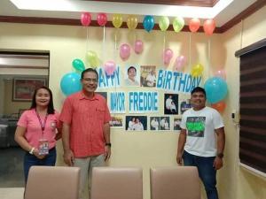 Happy Birthday MAYOR FREDDIE D. DOMINGO