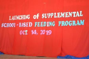 Launching of School-Based Feeding Program