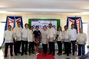 OATH-TAKING OF NEWLY-ELECTED MUNICIPAL OFFICIALS