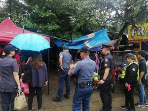 Road Clearing Operation in National & Brgy Road