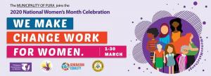 KICK-OFF CEREMONY OF 2020 NATIONAL WOMEN'S MONTH CELEBRATION