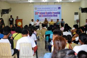 39th National Disability and Prevention Week (NDPR)
