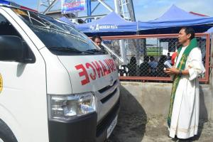 Blessing of the Rescue Vehicle (1)
