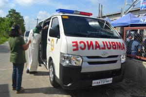 Blessing of the Rescue Vehicle (2)